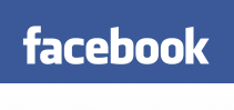 Screen shot of the Facebook logo