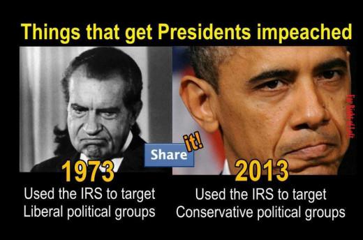 Nixon and Obama comparison
