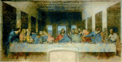 The Last Supper by Leonardo da Vinci (1495-1498)