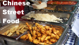 Chinese Street Food: Chinese Buffet Selection