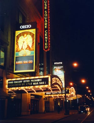 Cleveland's Playhouse Square, where you are likely to see just about every emotion on display