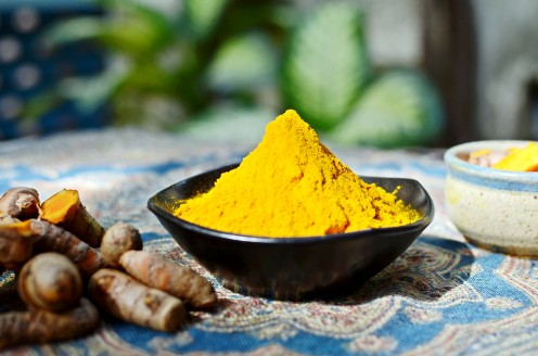 Turmeric is a powerful antiseptic