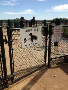 Cedar Park Bark Park - Large Dog Entrance  - Cedar Park TX