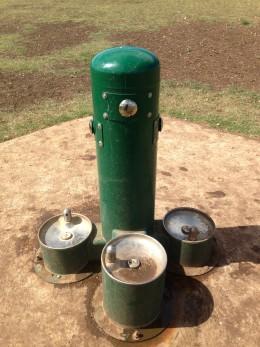 Dog water stations Cedar Park Bark Park - Cedar Park TX