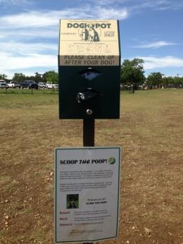 Clean up - Cedar Park Bark Park - Cedar Park TX