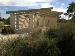 Amphitheater  -Veterans Memorial Playgrounds & Picnic Area - Cedar Park TX