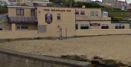 Beachside Restaurants in Newquay, Cornwall: The Mermaid Inn, Porth.
