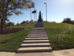 Veterans Memorial Monument - Veterans Memorial Park - Cedar Park TX -