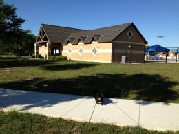 Cedar Park TX Memorial Park  - Pool Entrance