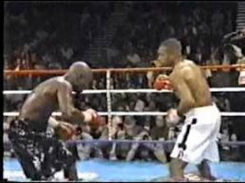 Roy Jones, Jr. dominated James Toney by winning a twelve (12) round decision and winning the Super Middleweight title in the process.