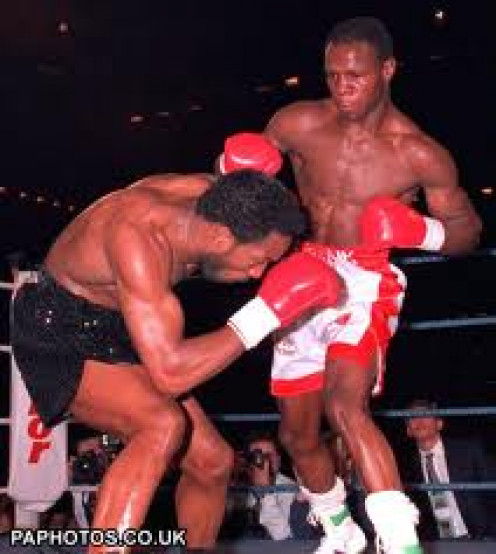 Chris Eubank and Nigel Benn fought three times in the 160 pound and the 168 pound weight classes.