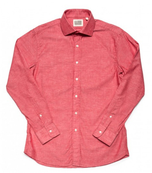 Luke - Red Chambray Shirt