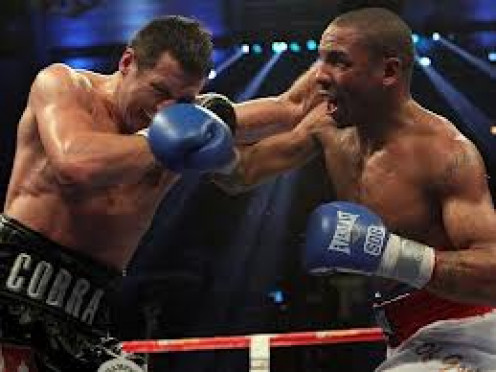 "Carl ""The Cobra"" Froch lost his super middleweight laurels to Andre Ward."