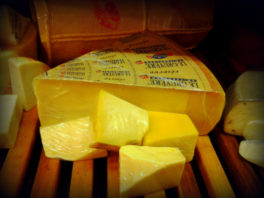 Gruyere -- not just for fondue.
