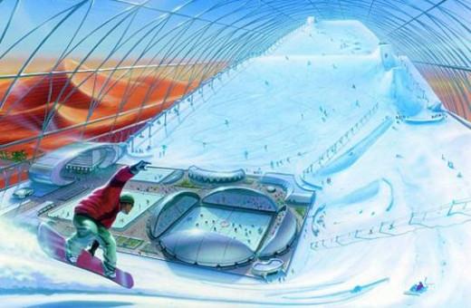 Project Plan for Snowdome (Dubai Sunny Mountain Ski Dome)