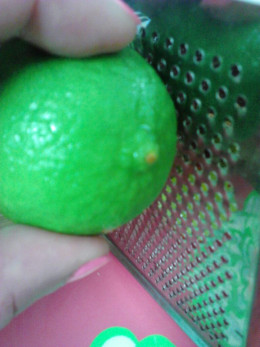 Grate Lime Zest