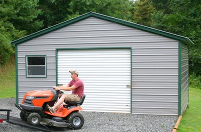 People who prefer durability coupled together with mobility choose prefabricated steel garage buildings