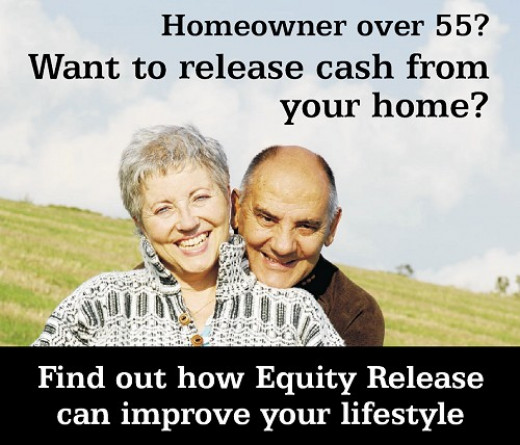 Equity Release lets retirees above 55 years get an income from the value of their property while they are still living in.