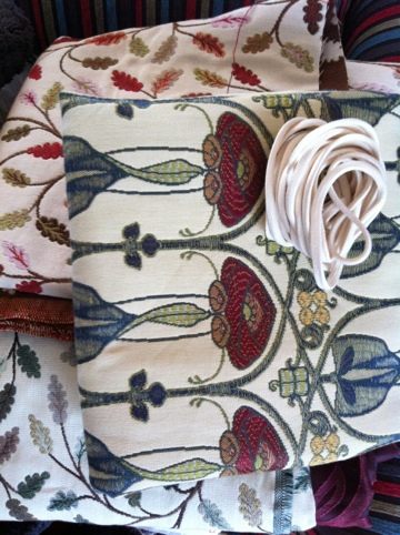 Upholstery fabrics ideal for corset making