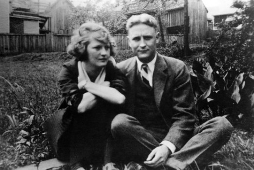 Zelda and F.Scott Fitzgerald