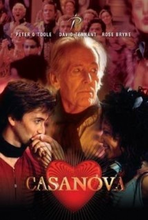 Casanova TV miniseries (2005) starring Rose Byrne, David Tennant and Peter O'Toole