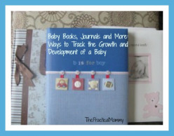 Baby Books, Journals and More: Ways to Track the Growth and Development of a Baby