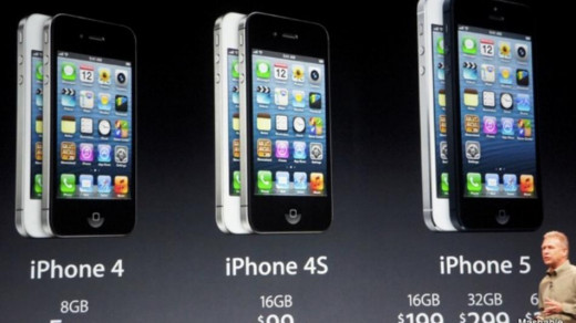 With the introduction of the iPhone 5, Apple now offers 2 options for form factor, but they really are basically the same.