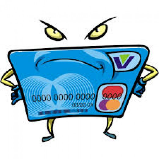 Angry Credit Card