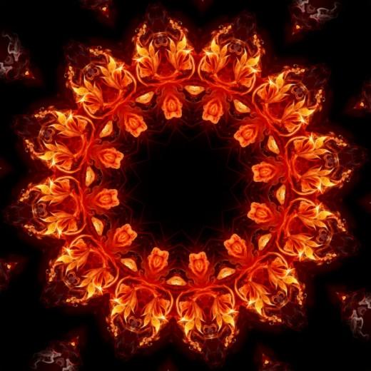 Fire Mandalas