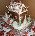 How To  Make A  Gingerbread House:  Complete Instructions And Photos