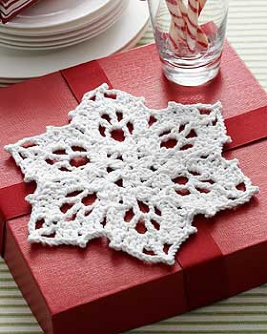 Snowflake Dishcloth