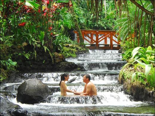 A thermal spa resort.