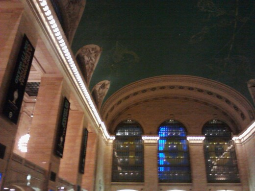 Inside Grand Central Terminal, New York City