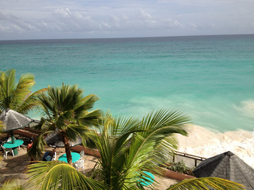 More of the view from our balcony