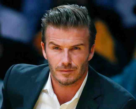 David Beckham What job can he do now? Here's a few I have chosen for him! What do you think?