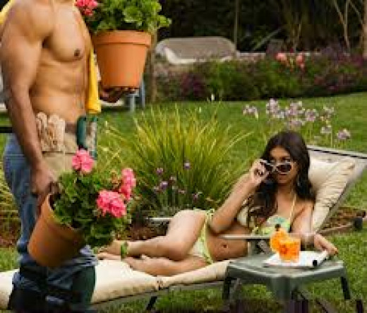 Hot Gardener!