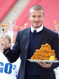 David Beckham Cooking! Who needs Gordon Ramsey when you can have this?