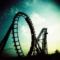 LIFE IS LIKE A ROLLER COASTER - What Comes Up Must Come Down