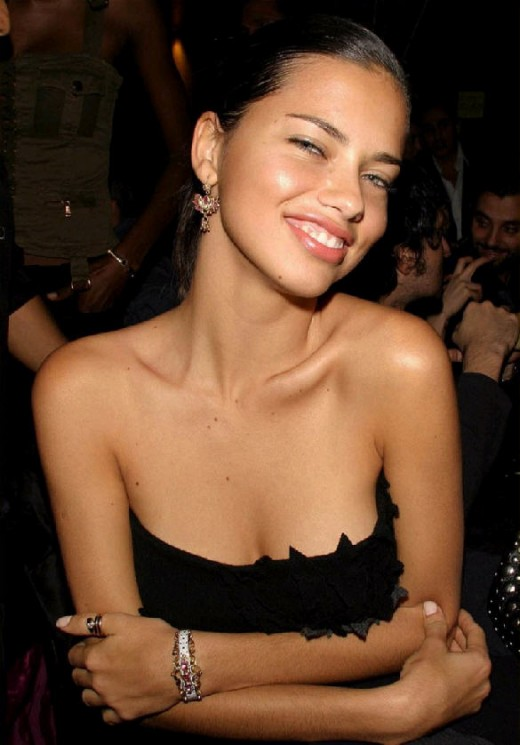 Adriana Lima breasts when young