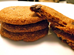Baking with coconut oil is easy! You can make healthier versions of old favorites, like these Paleo chocolate chip cookies.