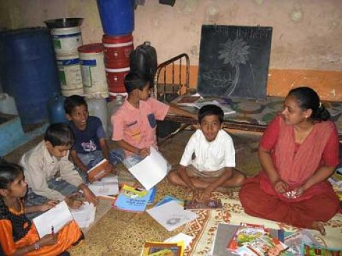 Pratham - Donated library