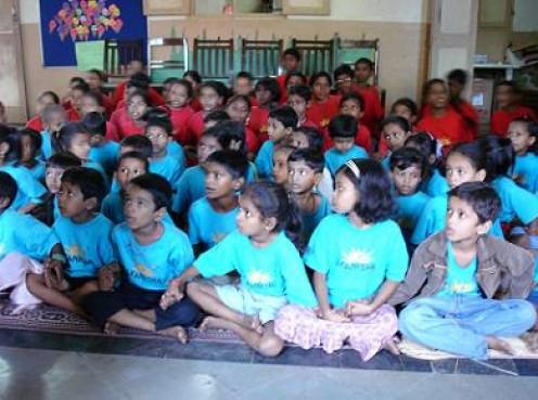Akanksha provides non-formal education in an after school enrichment program.