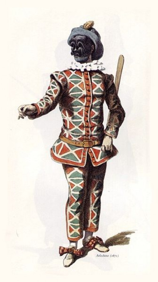 Arlecchino or Harlequin is the perfect example of the trickster archetype.