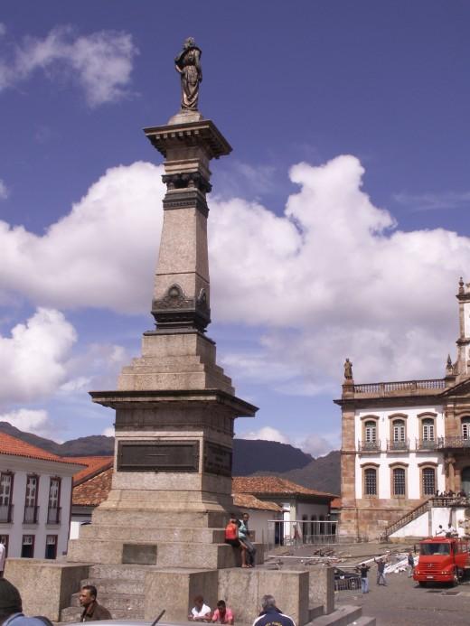 Ouro Preto Town Square and City Center