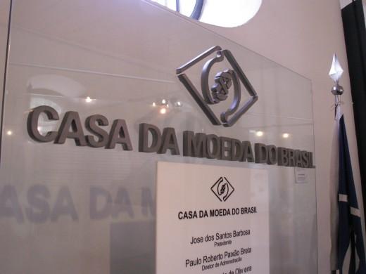 Casa da Moeda do Brasil (Historic House and Museum), Ouro Preto in Minais Gerais, Brazil