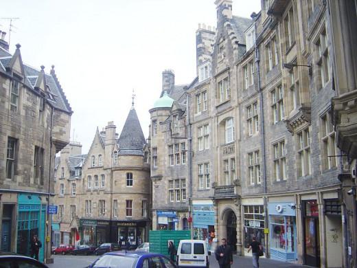 Edinburgh Cockburn St