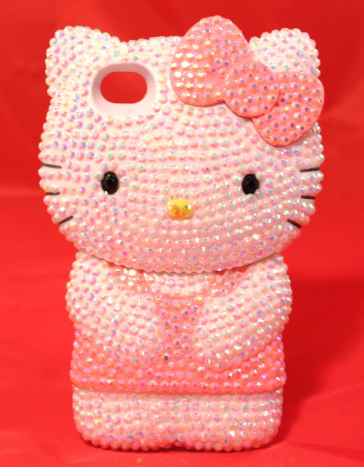 Hello Kitty diamante diamond bling case