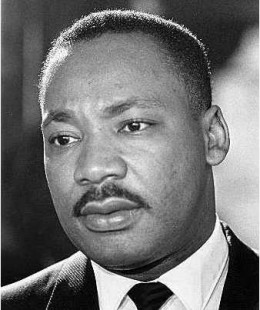 The Reverend Martin Luther King, Jr.