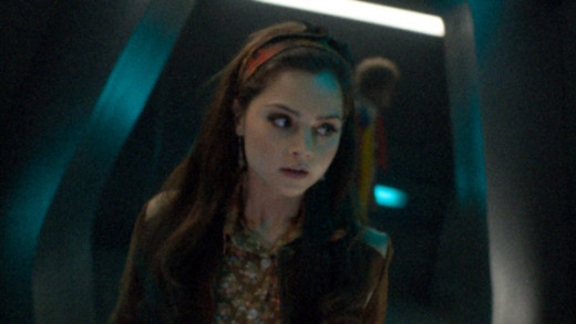 Clara and the Sixth Doctor