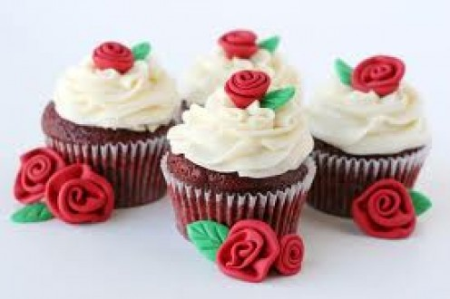 Red Velvet cake can also be used to make Red Velvet Cup Cakes. The cream topping is awesome.